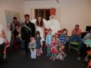 Foto dětí s Mikulášem, čertem a andělem