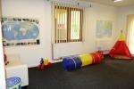 Prostor pro hraní dětí ve školičce