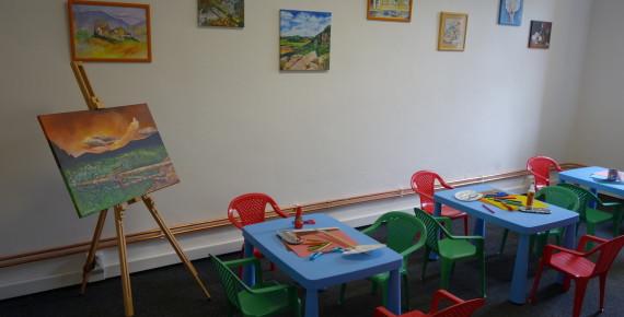 Výtvarné kurzy pro děti i dospělé