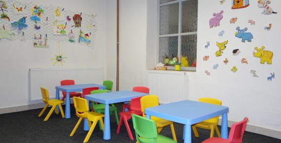 Cvrčkova školička - vyzdobená školka